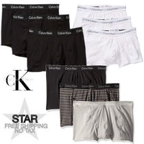 Calvin Klein CK CALVIN KLEIN Stripes Plain Cotton Co-ord Logo Trunks & Boxers
