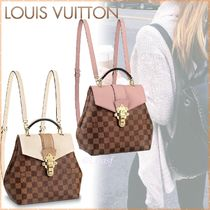 Louis Vuitton Other Plaid Patterns Canvas Blended Fabrics 3WAY Bi-color