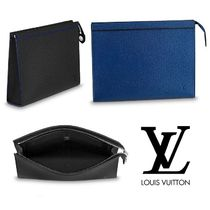 Louis Vuitton 3WAY Leather Clutches