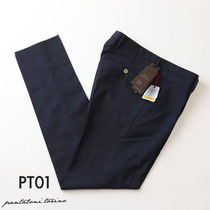 PT01 Tapered Pants Plain Cotton Tapered Pants