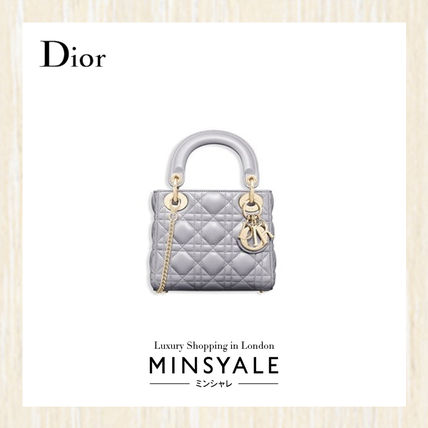 huge selection of 89a0c bb2b8 Christian Dior LADY DIOR DIOR Mini Lady Dior Bag [London department store  new item]