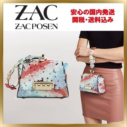 Flower Patterns Crystal Clear Bags PVC Clothing