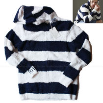 Ron Herman Stripes Collaboration Long Sleeves Hoodies