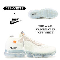 Off-White Unisex Street Style Collaboration Plain Sneakers