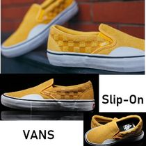 VANS SLIP ON Other Check Patterns Suede Loafers & Slip-ons