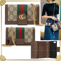 GUCCI Ophidia Leather Smart Phone Cases