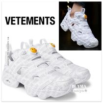 Reebok PUMP FURY Unisex Street Style Collaboration Sneakers