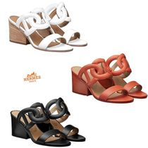 HERMES Bolide Heeled Sandals
