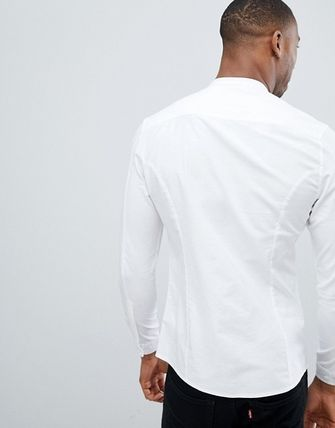 ASOS Shirts Long Sleeves Band-collar Shirts Shirts 2