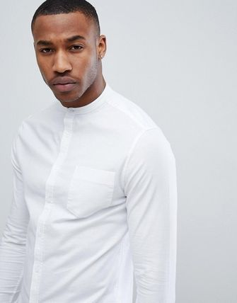 ASOS Shirts Long Sleeves Band-collar Shirts Shirts 3