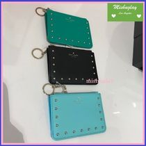 kate spade new york Studded Leather Card Holders