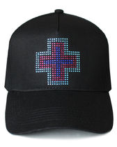 Pink Dolphin Unisex Studded Street Style Caps
