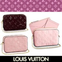 Louis Vuitton MONOGRAM VERNIS Monogram 2WAY Leather Party Style Shoulder Bags