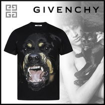 GIVENCHY Pullovers Street Style Short Sleeves T-Shirts
