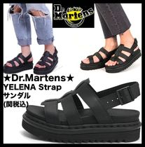 Dr Martens YELENA Casual Style Sport Sandals Flat Sandals