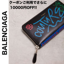BALENCIAGA BAZAR Leather Long Wallets