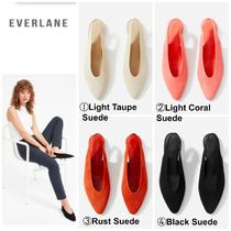 Everlane Casual Style Suede Plain Sandals