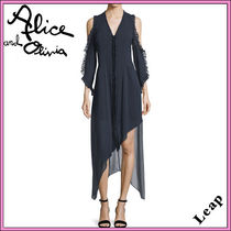 Alice+Olivia Maxi Plain Party Style Dresses