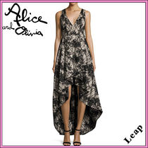 Alice+Olivia Maxi Sleeveless Long Party Style Dresses