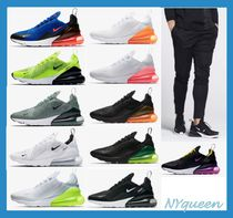 Nike AIR MAX 270 Street Style Plain Sneakers