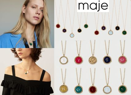 Casual Style Blended Fabrics Brass Necklaces & Pendants