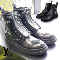 Louis Vuitton Leather Boots