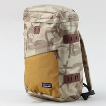 Patagonia Camouflage Unisex Nylon A4 Backpacks