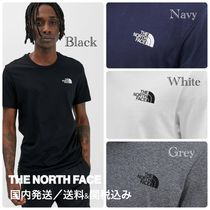 THE NORTH FACE Crew Neck Street Style Cotton Short Sleeves
