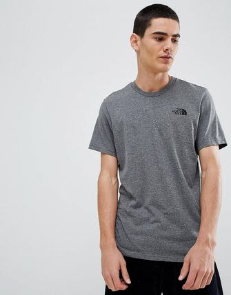 THE NORTH FACE Crew Neck Crew Neck Street Style Cotton Short Sleeves 14