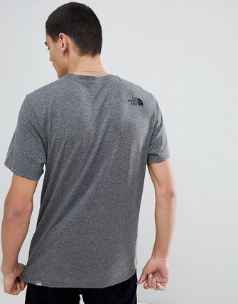 THE NORTH FACE Crew Neck Crew Neck Street Style Cotton Short Sleeves 15