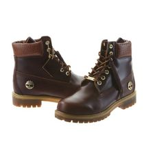 Timberland Plain Other Animal Patterns Leather Boots