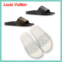 Louis Vuitton MONOGRAM Monogram Unisex Street Style Plain Shower Shoes