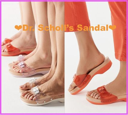 Open Toe Casual Style Street Style Collaboration Sandals