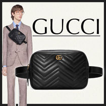 GUCCI GG Marmont Leather Hip Packs