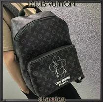 Louis Vuitton MONOGRAM Monogram Canvas Street Style A4 2WAY Backpacks