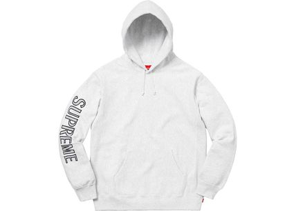 Supreme Hoodies Long Sleeves Cotton Logos on the Sleeves Hoodies 2