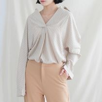 Stripes Casual Style Street Style Long Sleeves Long