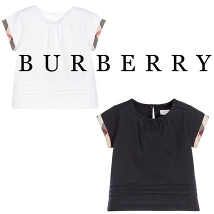 c1ef949cb8ccd Burberry 2018 SS Unisex Street Style Baby Girl Tops (40533461) by ...