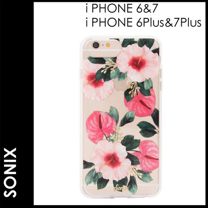 Flower Patterns Silicon Smart Phone Cases