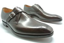 CHEANEY Monk Leather Oxfords