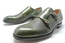 CHEANEY Monk Leather Loafers & Slip-ons