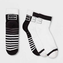 HUNTER Stripes Collaboration Plain Socks & Tights