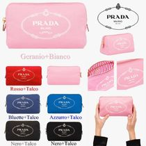 PRADA Stripes Pouches & Cosmetic Bags