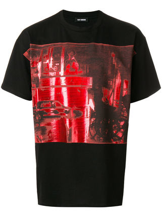 RAF SIMONS More T-Shirts Cotton T-Shirts