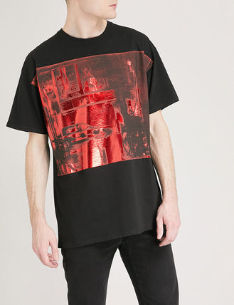 RAF SIMONS More T-Shirts Cotton T-Shirts 4