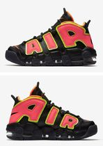 Nike AIR MORE UPTEMPO Street Style Low-Top Sneakers