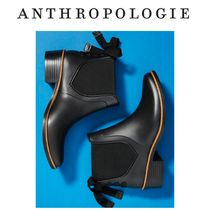 Anthropologie Plain Rain Boots Boots