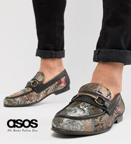 ASOS Flower Patterns Loafers Leather Loafers & Slip-ons