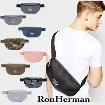 Ron Herman Unisex 2WAY Plain Messenger & Shoulder Bags