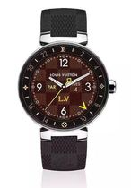 Louis Vuitton DAMIER GRAPHITE Digital Watches